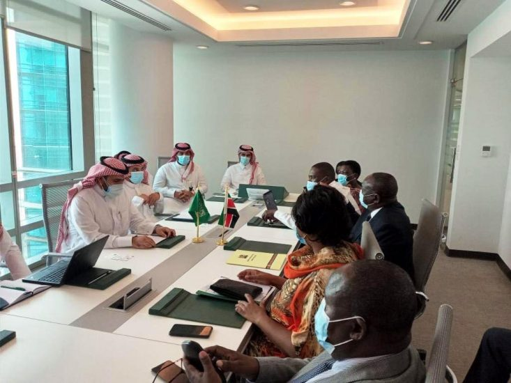 Kenyan delegation meets mega recruitment agencies in Riyadh, Saudi Arabia.